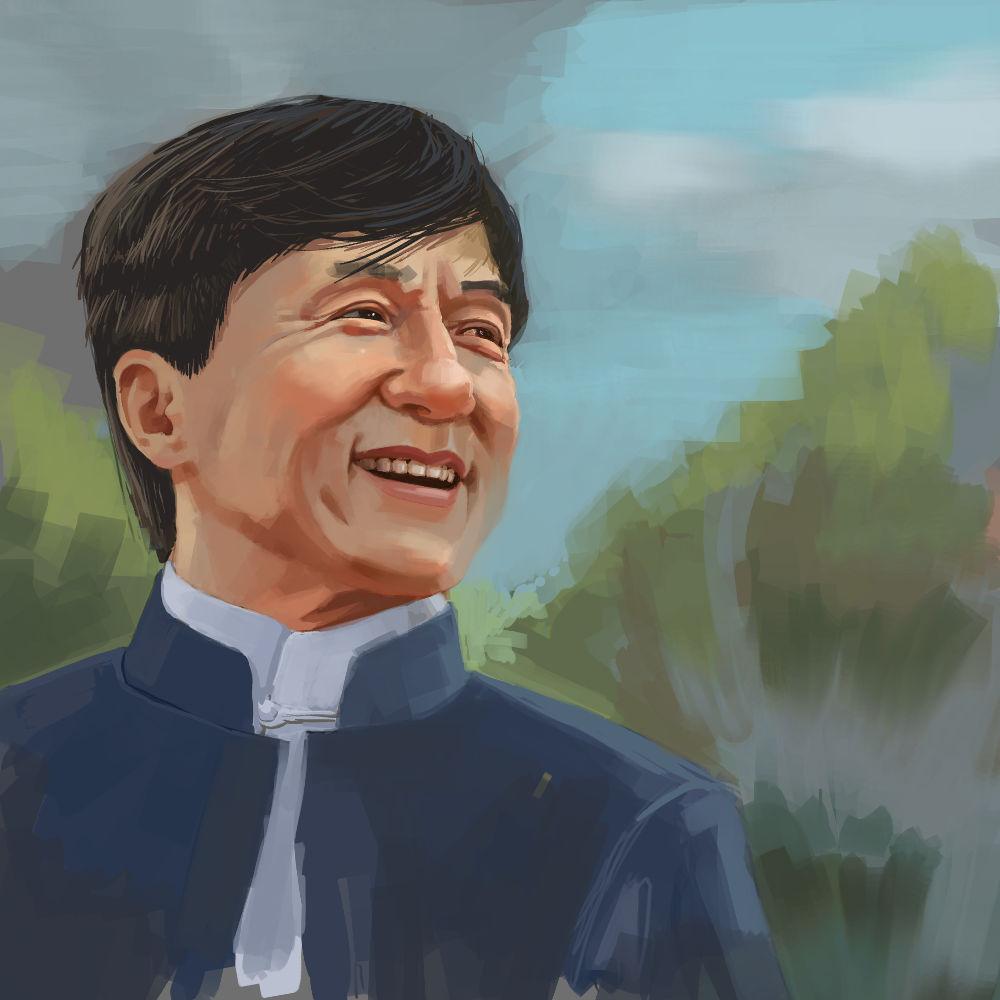 Personal work painted in Krita.